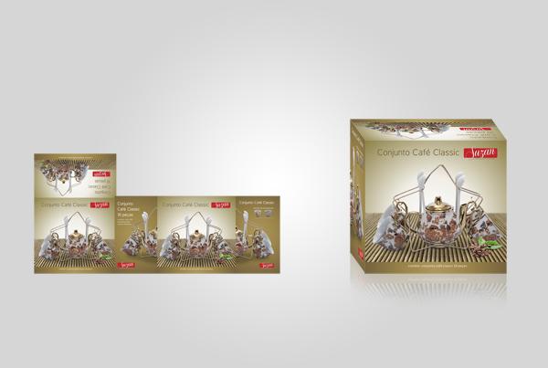Embalagem Conjunto Café Classic - Suzan Empreendimentos