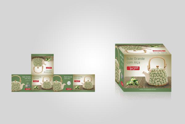 Embalagem Bule Grande c/ Alça - Suzan Empreendimentos