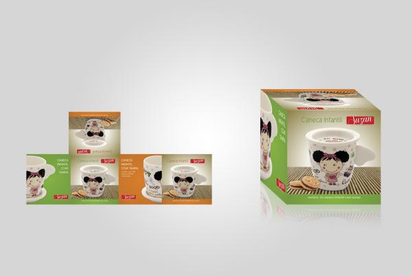 Embalagem Caneca Infantil - Suzan Empreendimentos