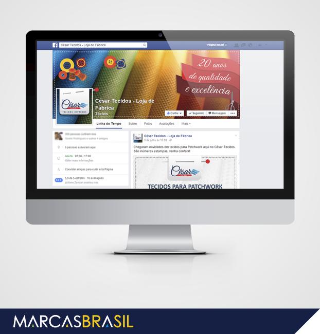 Site-Marcas-Brasil-redes-sociais-facebook-césar-tecidos-loja-da-fabrica