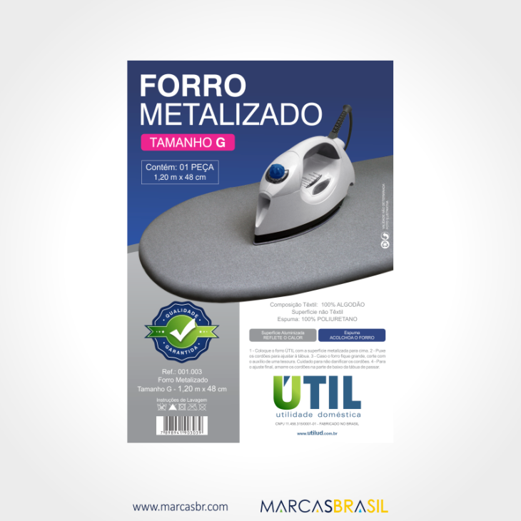 Forro metalizado tam g 001003 220x315mm